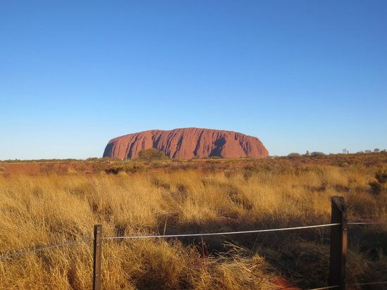Ayers Rock Resort Shopping Centre: Ayers Rock 5:00 PM