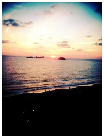Playa el Palmar: You will see the most beautiful sunsets here!