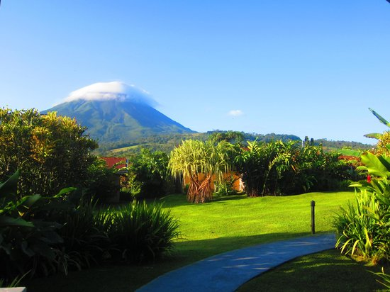 Arenal Springs Resort and Spa: What I saw in the morning