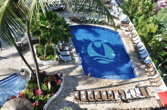 Outrigger Waikiki Beach Resort: From the 3rd Floor