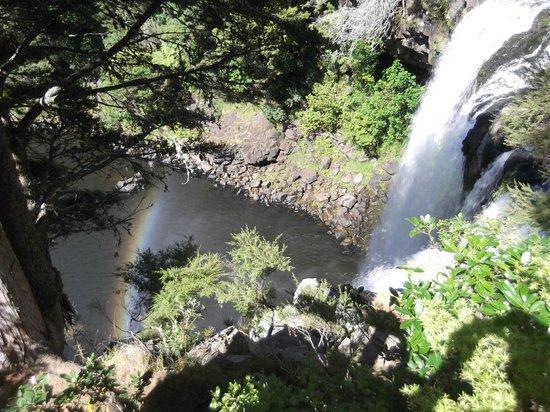Rainbow Falls Walk : Falls with Rainbow