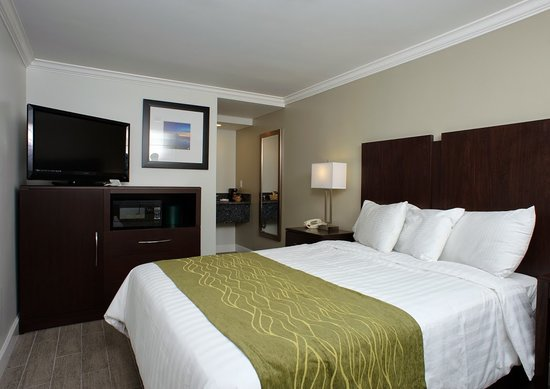 Hi View Inn & Suites: Queen Bed