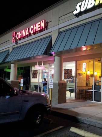 China Chen Restaurant: 4 eat in tables, clean