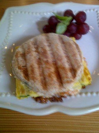 The Wild Oak Cafe & Community Market: The 'Wild Yolk' breakfast sandwich