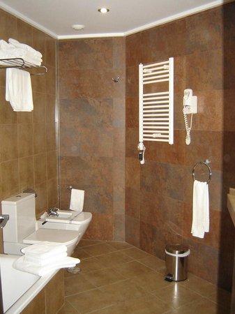 Sandos Monaco Beach Hotel & Spa: The large bathroom we had.