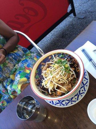 Baan Sabai Jai: Thai Noodle Soup with Roast Duck