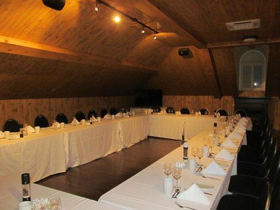 Hotel Montfort Nicolet: Salle Le Grenier