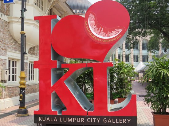 Merdeka Square : KL City Gallery nearby is worth a visit