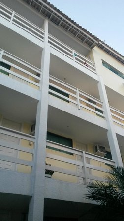 Pousada Rayer Land: habitaciones vistas desde el patio interno