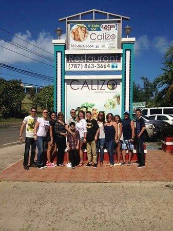 Calizo Restaurant: Happy reunion at Calizo!
