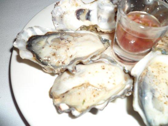 Copthorne Hotel & Resort Hokianga: fresh oysters, so delicious