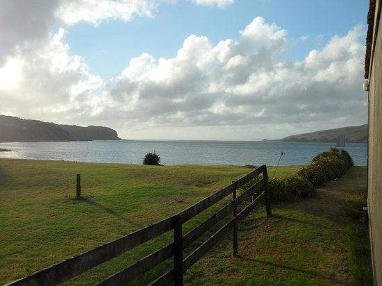 Copthorne Hotel & Resort Hokianga: view from the room facing the beach