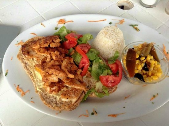 Doc'ks Tiki Bar & Grill: One of the lunches we had