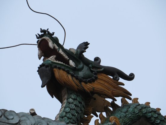 Sin Sze Si Ya Temple : Dragon