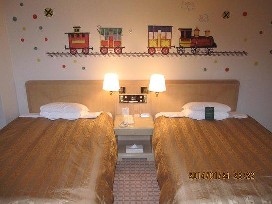 Tokyo Bay Maihama Hotel Club Resort: 最上階12階キッズスイートルーム