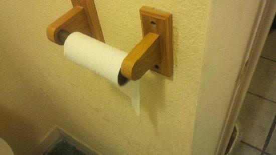 Airport Inn: No Toilet paper
