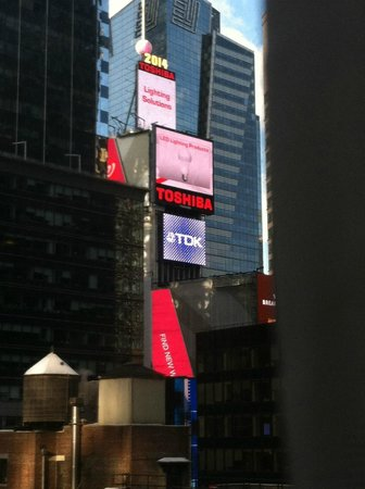 Millennium Broadway New York Times Square: View from our Room.