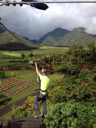Maui Zipline Company: Beautiful views