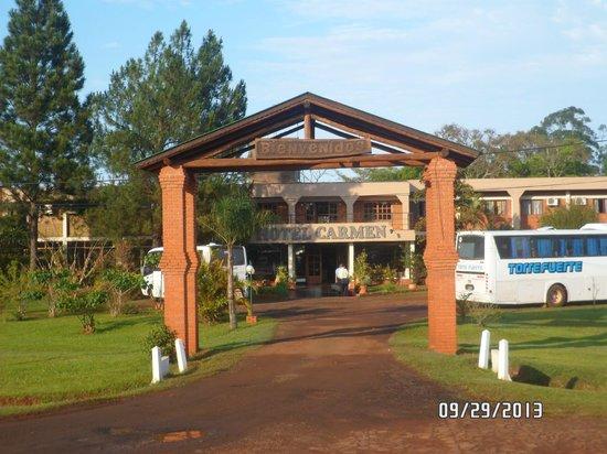 Hotel Carmen Iguazu : Vista del Hotel