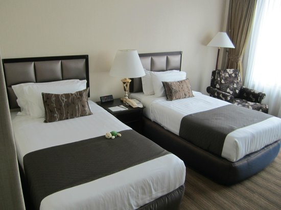 Two Single Bedded Room Picture Of The Katerina Hotel Batu Pahat