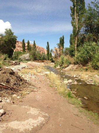 Quebrada de Jerez : Rio de la quebrada