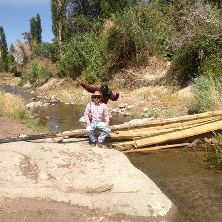 Quebrada de Jerez : Descanso luego de la caminata
