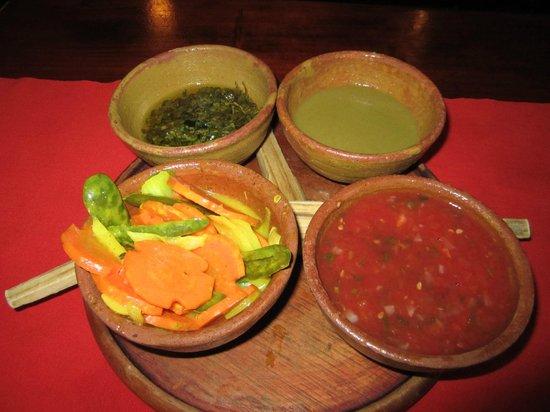 Hacienda Real : Salsas