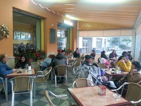 Bella Atalaya Bar Cafeteria: Terraza