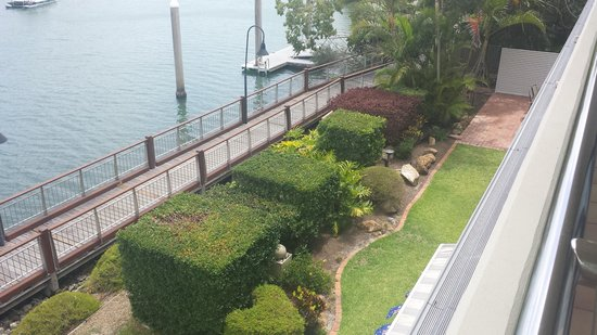 Hotel Laguna: River view suite