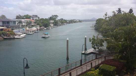 Hotel Laguna : View from river view suite