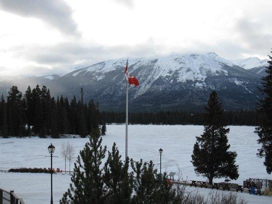 Fairmont Jasper Park Lodge : LakeView from JPL