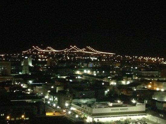 Hyatt Regency New Orleans : Gorgeous night view . . .