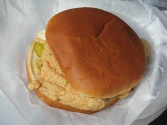 Mister Fish: Fish sandwich