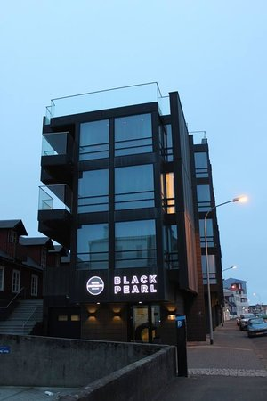 Black Pearl - Reykjavik Finest Apartments: Exterior of the Black Pearl - AMAZING location!!!