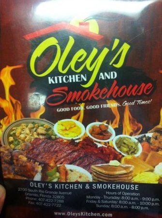 Oley's Kitchen & Smokehouse
