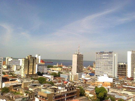Taj Mahal Hotel Manaus : Vista da piscina