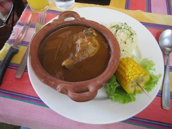 Casa Chapina: My dish