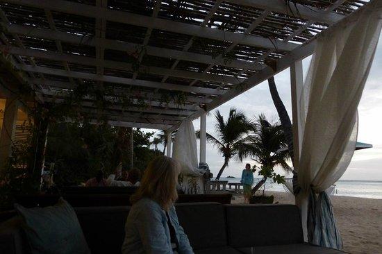 Jacqui O's BeachHouse: Seated at the beach