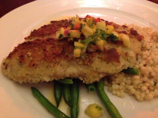 McCormick & Schmick's Grill : Almond Crusted Tilapia