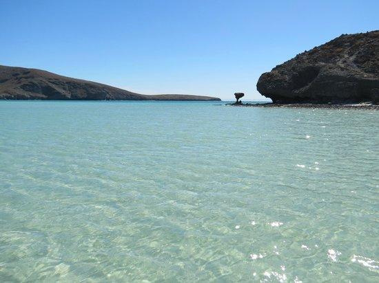 Playa Balandra: Great kayaking!