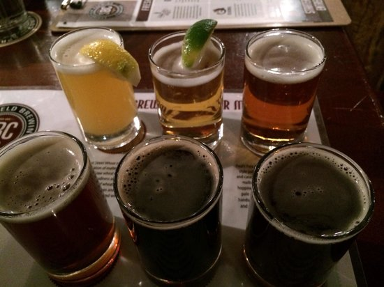 Springfield Brewing Co: Beer Flight