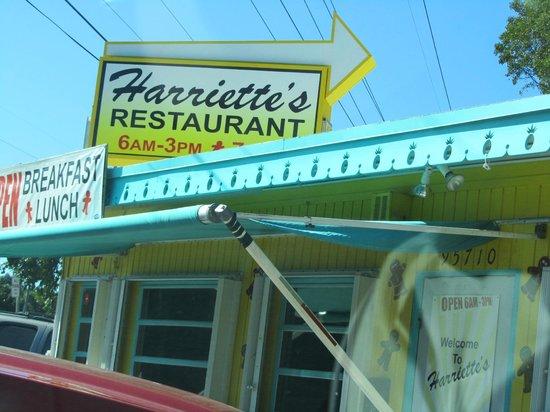 Harriette's Restaurant : View of the restaurant