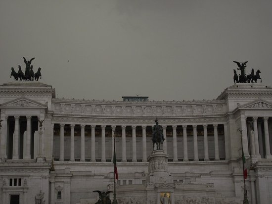 Monument à Victor-Emmanuel II : Monumento Vittorio Emanuele II visto da Piazza Venezia