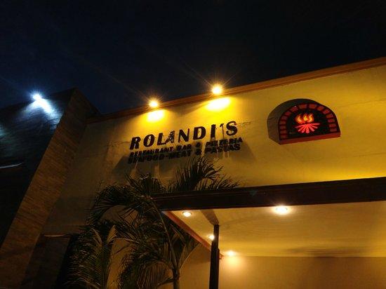 Rolandi's: Outside Restaurant
