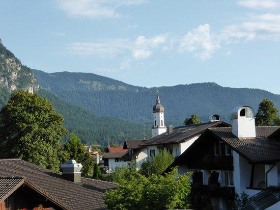 Gastehaus Brigitte: View from our balcony