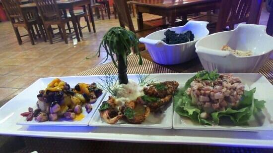 Gastronomia El Buzo: Fiesta de pulpo
