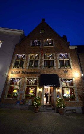 Hotel Prinsenhof Bruges: Prinsenhof Hotel Facade