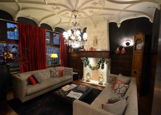 Hotel Prinsenhof Bruges : Prinsenhof Lobby