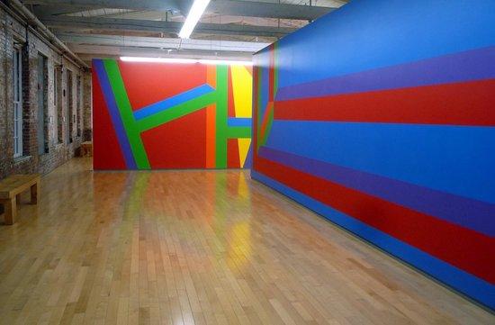 MASS MoCA: Sol Lewitt exhibit