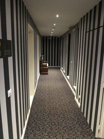 Hotel Prinsenhof Bruges : Prinsenhof Bruges_Corridor